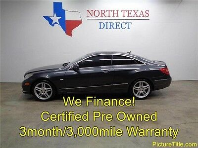 2012 Mercedes-Benz E-Class Base Coupe 2-Door 12 Mercedes E350 Coupe GPS Camera Leather Heat Seats Pano Roof We Finance Texas