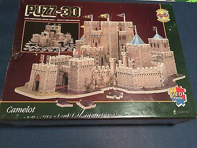 Puzz-3D Camelot 625 Piece 3D Puzzle BRAND NEW SEALED