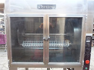 Hardt Inferno Commercial Natural Gas Chicken Rotisserie Oven