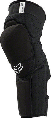 Fox Racing Launch Pro Protective Knee and Shin Guard: Pair Black SM/MD