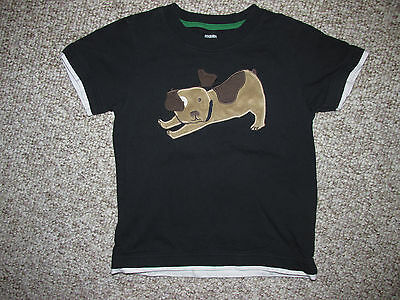 Gymboree Toddler Boys 5T 5 Puppy Short Sleeve Shirt - Very Good Condition