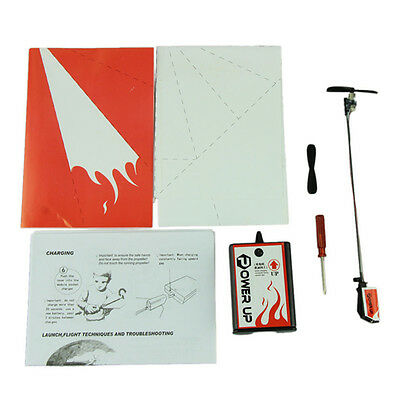 Power Up Electric Paper Plane Airplane Conversion Kit Educational Toys LD