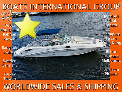 2011 SEA RAY 300 SD NEW MANIFOLDS N RISERS - ONLY 125 HOURS We ship worldwide
