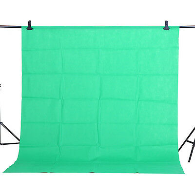 CY 1.6x1M Green Backdrop Screen Video Background Non-woven Photography Studio