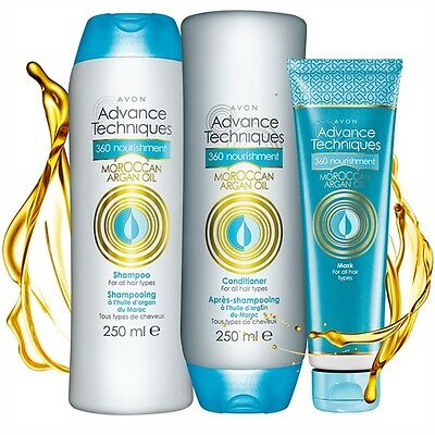 Moroccan Argan Oil Shampoo/Conditioner and Hair Mask. BRAND NEW