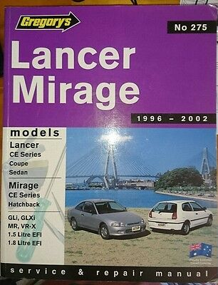 Lancer/Mirage repair manual 1996-2002