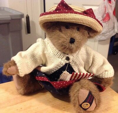 BOYDS BEARS, MWT, Dolly M Bearsevelt Boyds Bear Country Exclusive