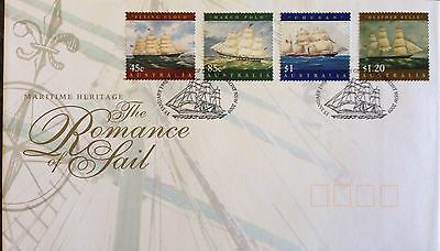 1998 Maritime Heritage The Romance Of Sail - First Day Cover FDC