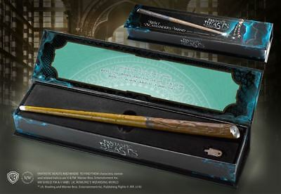 Harry Potter : NEWT SCAMANDER 1/1 Replica Illuminating Wand Noble Collection