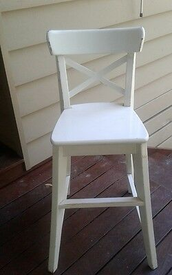 Wooden kids dining chair