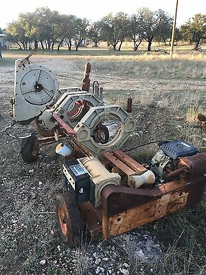 "McElroy Pipe Fusion Machine HDPE PE Welder 6""-12"" pipe NEEDS ENGINE & DIES ��"