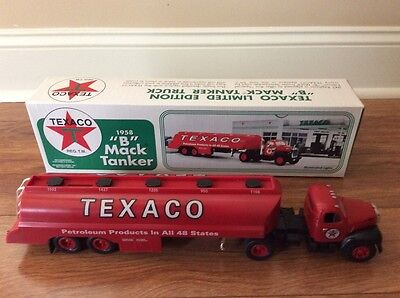 "1958 Texaco ""B"" Mack Toy Tanker Truck, JMT Replicas, Made in 1996"
