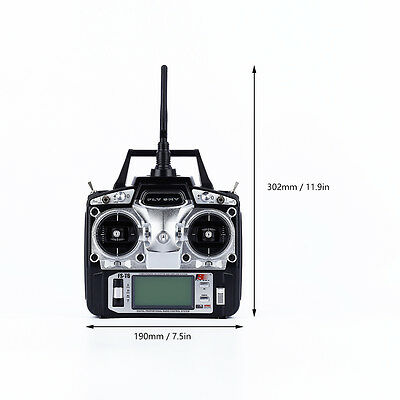 1x T6 Radio Control 2.4G 6 Channel Transmitter+Receiver for Flysky RC Helicopter