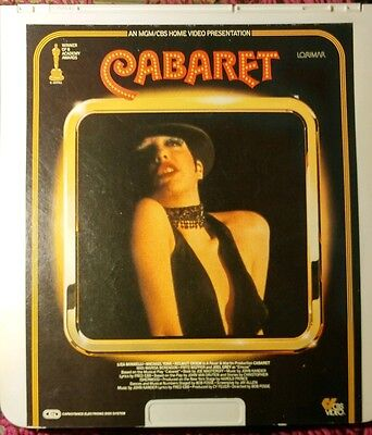 CABARET on CED VideoDisc