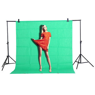 CY 1.6x2M Non-woven Photo Backdrop Screen Green  Background Photography Studio