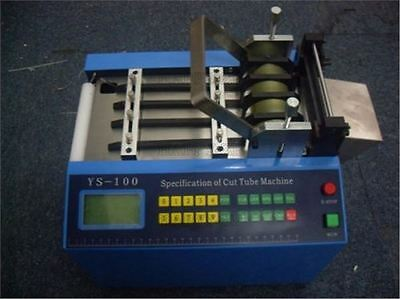 Pipe Cutting Machine New For Heat-Shrink Tube Pipe Auto Pipe Cutter Ys-100H 22 T