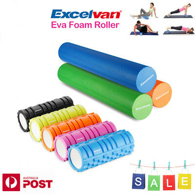 33cm/90cm Yoga Foam Fitness EVA Roller Exercise Massage Trigger Pilates Physio