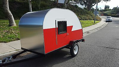 Brand New Two Door Teardrop Trailer, Compact Car Can Tow It!