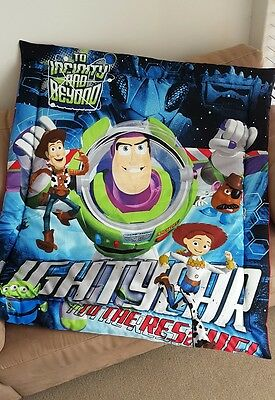 Buzz Lightyear Toy Story Cot Quilt or Playmat Handmade NEW