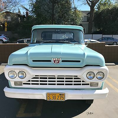 1960 Ford F-250  1960 Ford F-250 Truck
