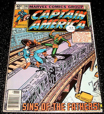 Captain America 246 (5.5) $3.99 One Time Shipping
