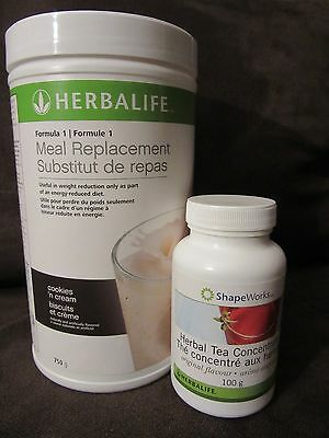 1Herbalife Protein Shake 750g (5 FLAVORS) & Herbal Tea 100g - FREE SHIPPING