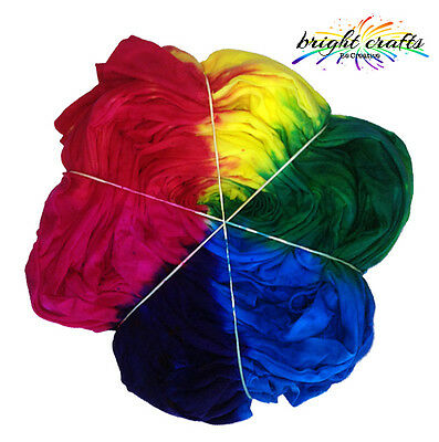 Your Rainbow Tie Dye Kit 3 rainbow colours real fabric dyes for bright colours
