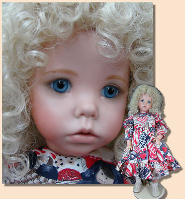 Porcelain Doll mold, head of Hilary, very cute. Ultimate Collection