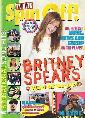 Britney Spears Vintage Import Magazine Cover Clipping Music Celebrity 12