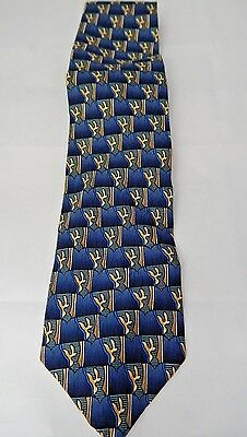 COCKTAIL COLLECTION Martini Art 100% Silk Made in USA by STONENEGE Necktie