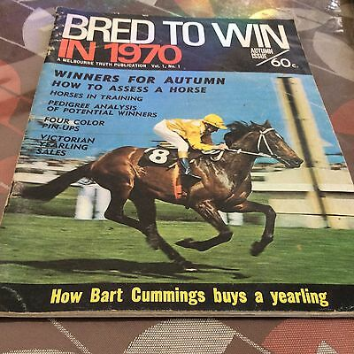 Bred To Win 1970 Featuring Bart Cummings