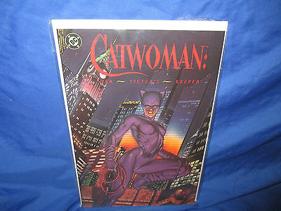 DC Catwoman Her Sister's Keeper TPB (1991) #1 1ST Print NM- GN