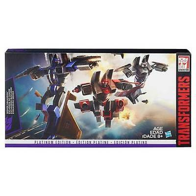 Transformers G1 Ramjet, Thrust And Dirge Seeker Squad Platinum Edition New