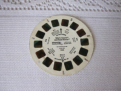 1 ViewMaster reel Wile E Coyote & Road Runner View Master Vintage C reel
