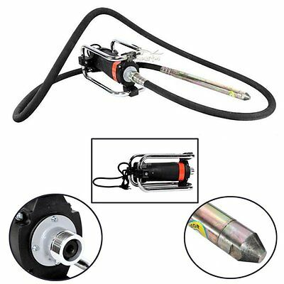 1100W Electric Concrete Vibrator & 14-3/4 Ft Poker to Remove Air Bubbles Level