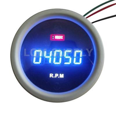 5 Digits Led Tacho Gauge 20K Rpm Tach Meter Digital Tachometer Motorcycle