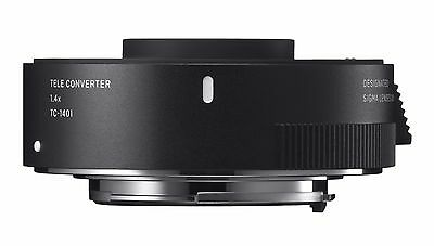 Sigma TC-1401 1.4x Tele-Converter - Canon AF Fit - New UK Stock No Grey Imports