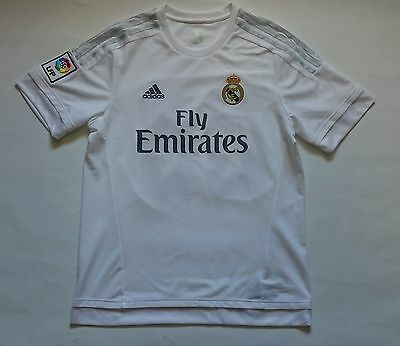 Real Madrid - Adidas 2015/16 Home Shirt - Size L - 23 Beckham - Never Used