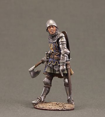 Toy tin soldiers 54mm.Middle Ages.Knight.