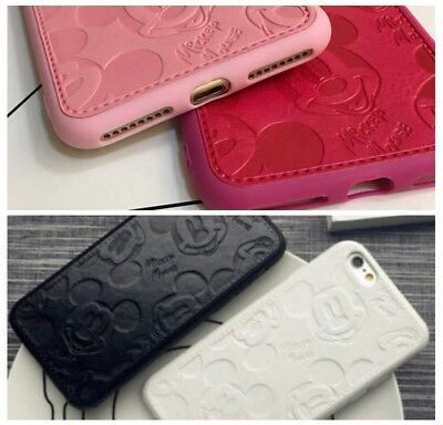 Disney MICKEY MINNIE MOUSE Pu Leather PHONE CASE For IPHONE 7/8Plus X XS MAX XR