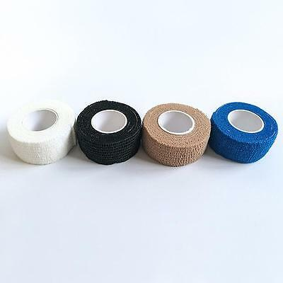 1roll Disposable Athletic Tape Wrap Finger Bandage Sports Protective 2.5cm*4.5m