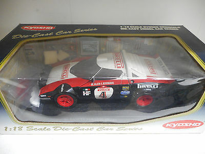 Lancia Stratos Hf Rally '78 Sanremo-No. 4-Die Cast-Kyosho-No. 08136B-1:18----B36