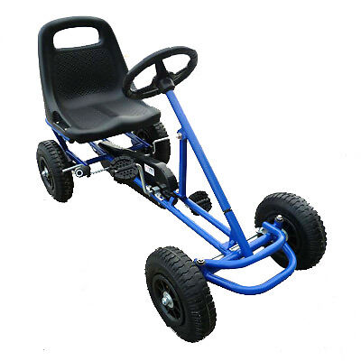 New Ride On Kids Toy Pedal Go Kart Blue