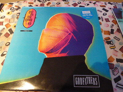 "THE GODFATHERS Out On The Floor EP UK 12"" VINYL single record (Maxi) GFTT5 EPIC"