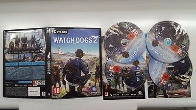 WATCH DOGS 2 PC game box ONLY No game included NEW original UK