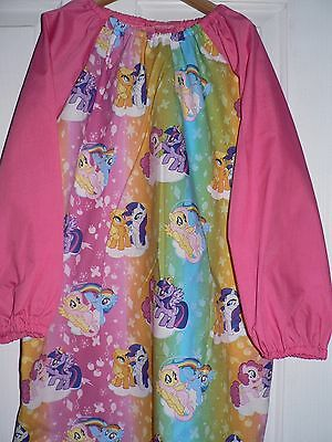 Handmade Kids Art Smocks My little Pony  Print (A)