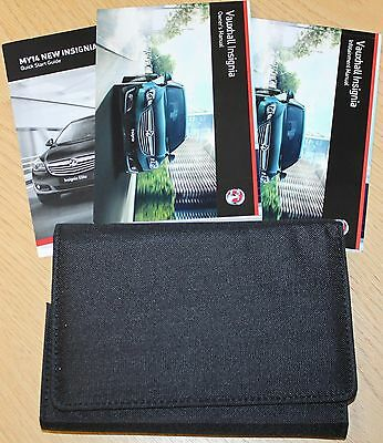 Genuine Vauxhall Insignia Owners Manual Handbook 2013-2017 Book Pack
