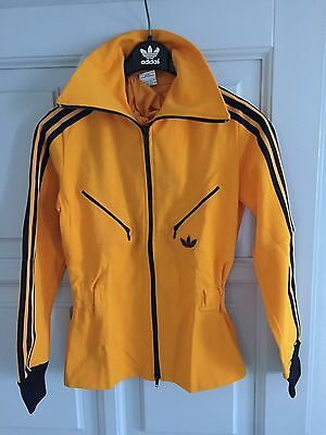 Vintage Adidas  Jacket. 1970's Rare Made in West Germany D36 Deadstock Girls
