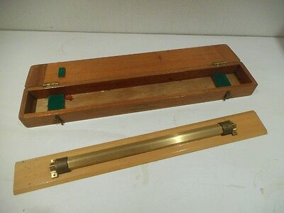 Antique Scientific/ Surveying Wooden Cased Instrument CHARLES SMITH LTD 1959