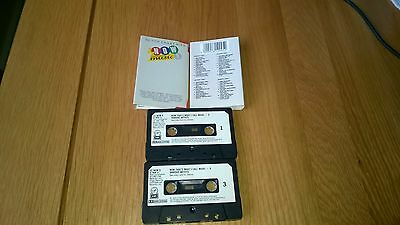 Now Thats What I Call Music 9 1987 2 Cassettes (Fat Case) Paper Labels